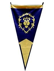 World of Warcraft Alliance Triangular Cosplay Flag