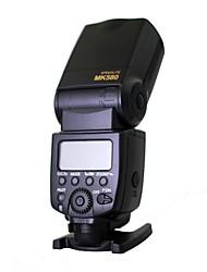 meike® mk 580 mk580 flash Speedlite e TTL para Canon EOS 580exii 5DII 5diii 7d 60d 650D 600d 550d 500d 450d 400d 1100d