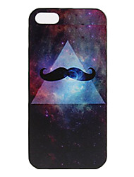 Beard Pattern Hard Case for iPhone 5/5S