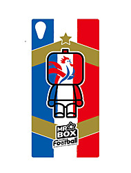 DDGD Creative 3D World Cup Theme Phone Case for SonyZ2-SJB27#France