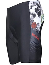 PALADIN® Gepolsterte Fahrradshorts Herrn Atmungsaktiv / UV-resistant / 3D Pad Fahhrad Gepolsterte Shorts / Shorts/Laufshorts / Unten