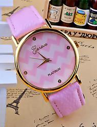 Omiya Women's PU Leather Wrist Watch DSC_0552