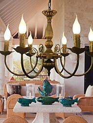Olde lustre de bronze