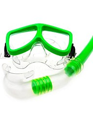 Coway Unisex Diving Glasses Breathing Tube Set(Assorted Color)