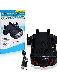 3 IN 1 Dual Charging Dock Station Controller Cooling Fan Stand voor XBox One