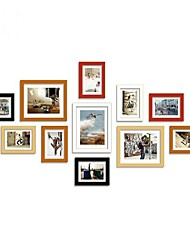 3 colori Frame Collection Photo Wall Set di 11