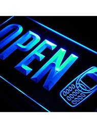 OPEN Mobile Phone Repairs Shop Neon Light Sign