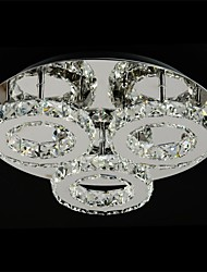 SL® Modern LED K9 Crystal Ceiling