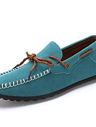 Qiyu New Style Masculino Casual Nubuck Doug sapatos masculinos