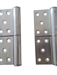 110mm × 76mm en forme de drapeau en alliage d'aluminium Charnière de porte