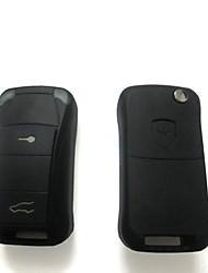 2-кнопочным пультом дистанционного ключа чехол для Porsche
