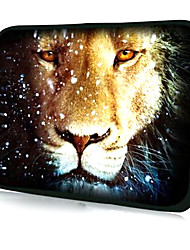 "Leopard and Snowflake Pattern Laptop Sleeve Case for 11.6"" MacBook Air"