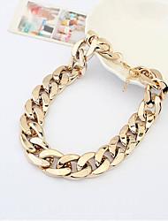 OUI OUI Metallic Necklace (Gold)