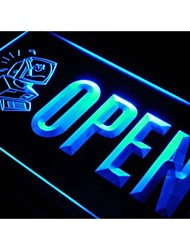 j740 OPEN Computer Repair Expert Shop Neon Light Sign