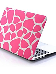 Rose Irregular Patterns Folio Plastic Protective Hard Shell Case for Macbook Pro 15""