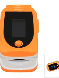 SPortguard Fingertip Pulse Oximeter SpO2 Heart Rate Monitor - Orange