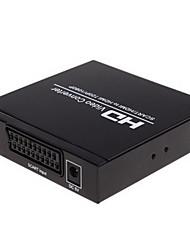 Péritel + HDMI vers HDMI Converter