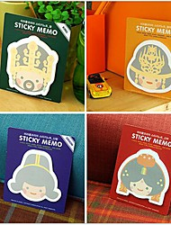 Lovely Palace Series Self-stick Notes(Random Color)