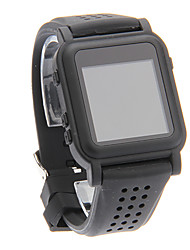 Moda Cómodo MP4 Conveniente inteligente Reloj Player (Negro)
