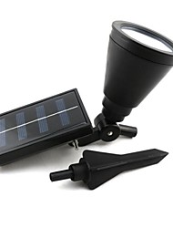 4-LED-Outdoor-Solar Power Spotlight Landschaft Spot Light Garten Rasen Flut-Lampe