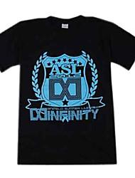 T-shirt Cosplay Spada arte Online Kirito donna in cotone