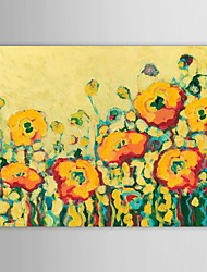 Hand Painted Oil Painting Floral Flowers in Summer with Stretched Frame