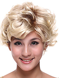 100% Kanekalon Capless Short Wavy Side Band Synthetic Hair