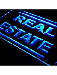 i610 Real Estate Rent Lease Agent Neon Light Sign