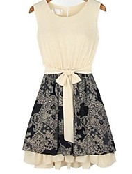 Women's Sleeveless Joint Dress