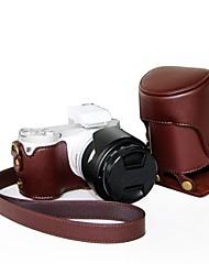 """Couro Camera protecção """"sempre pronto"""" Case Capa Bolsa para Câmera Digital Samsung NX300"""