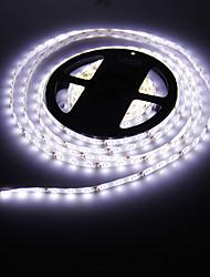 Waterproof 5M 24W 300x3528 SMD Cool White Light LED Strip Lamp (DC 12V)