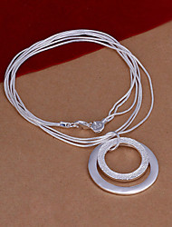 Meles Korean Fashion Silver Necklace
