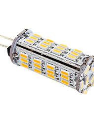 3W G4 Ampoules Maïs LED T 57 SMD 3014 339 lm Blanc Chaud DC 12 / AC 12 V