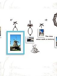 Coleção Photo Frame Set de 5 com adesivos de parede 03