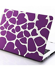 Purple Irregular Patterns Folio Plastic Protective Hard Shell Case for Macbook Air 11.6''