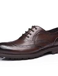 CEEN londres retro elegantes sapatos de couro para as empresas