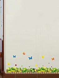 Frankie™ DIY Plant Flowers Decorative Wall Stickers