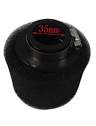 35MM 2 Layer ATV Foam Air Cleaner Filter for 110CC Kawasaki Dirt Pit Bike Motocross Engine CRF KTM