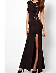Moda Sexy Vestido de renda de Shirley Mulheres