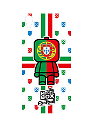 DDGD Creative 3D World Cup Theme Phone Case for SonyZ2-SJB25#Portugal