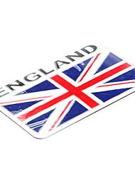 8 * 5,1 cm Drapeau de l'Angleterre Motif anglais emblème aluminium moto bricolage Sticker Decal
