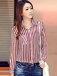 Mode striés Les chemises des femmes