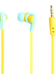 IN-048 Personalisierte 3.5mm In-Ear-Stereo-Kopfhörer mit Bass Mic für iPhone & Samsung & Sony und HTC Handys & Tabs