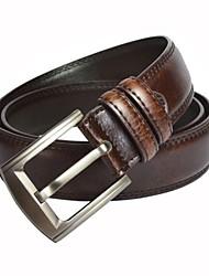 Moda Cinturón de cuero del vestido de los hombres