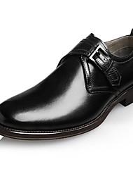 CEEN мужская кожаная офисных бездельников обувь