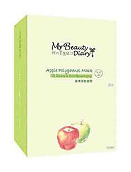MON journal intime de beauté d'Apple Polyphenot Masque 10pcs