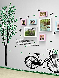 2 colori Foto di frame di 7 con Wall Sticker