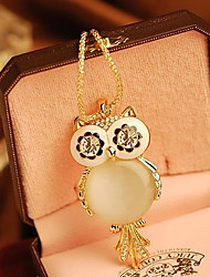 Women's  Korean Owl Necklace