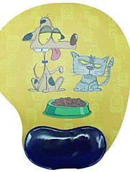 Shenguangjukui Mouse Pad Perro Amarillo