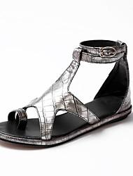 Women's Flat Heel T-Strap  Sandals Shoes (More Colors)